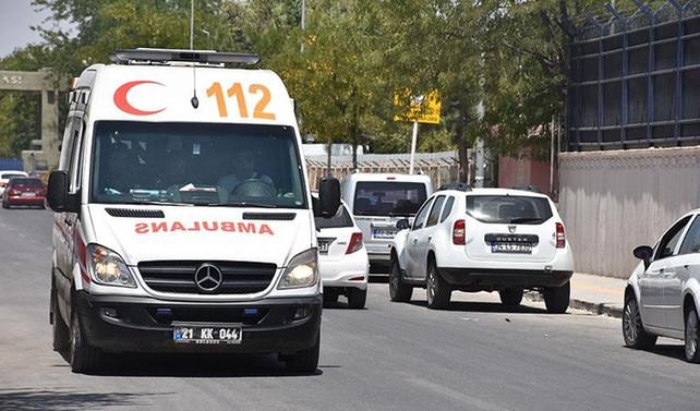 Terör saldırısında 1 güvenlik korucusu yaralandı