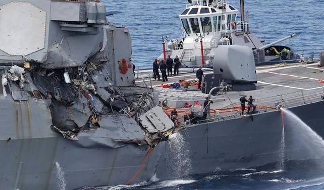 ABD tüm deniz operasyonlarını durdurdu