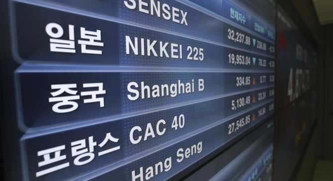 Asya borsaları, Çin hariç pozitif