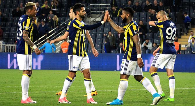 Fenerbahçe Kadıköy'de 11 maçtır kaybetmiyor