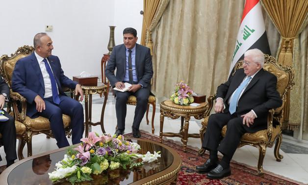 Irak Cumhurbaşkanı: Türkiye ve Irak arasında ticaret hacminin artırılmalı