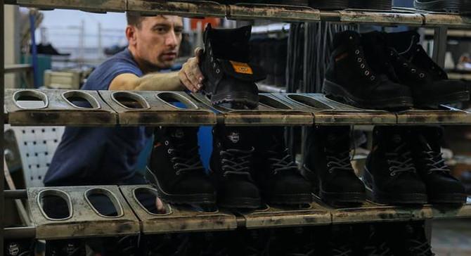Rusya'ya ayakkabı ihracatı ikiye katlandı