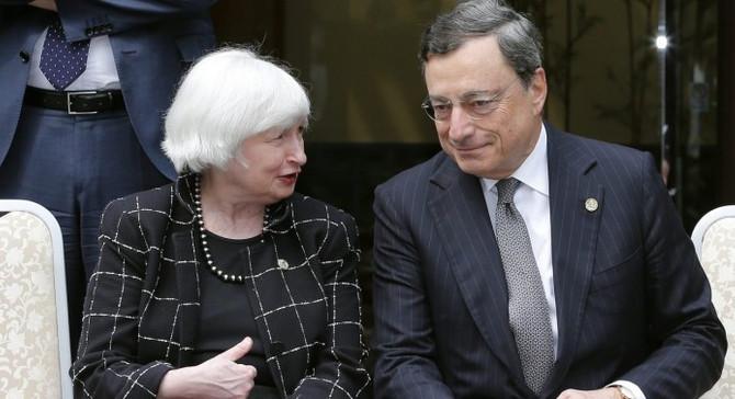 Yellen ve Draghi'nin ipucu vermesi beklenmiyor
