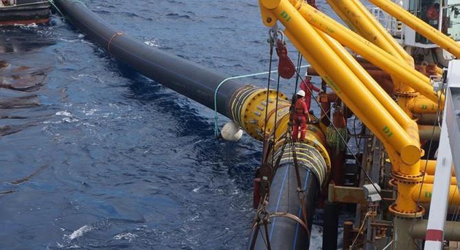 KKTC'ye sudan sonra deniz altından elektrik