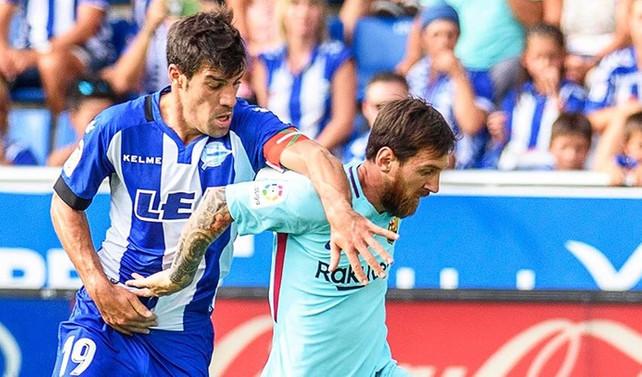 Barcelona'yı deplasmanda Messi sırtladı