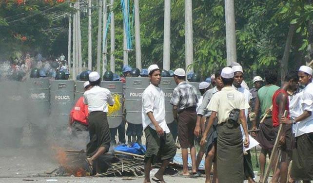 Myanmar'daki olaylarda 96 kişi öldü