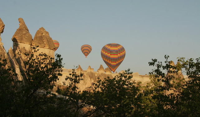 Kapadokya turizmine yerli turist dopingi