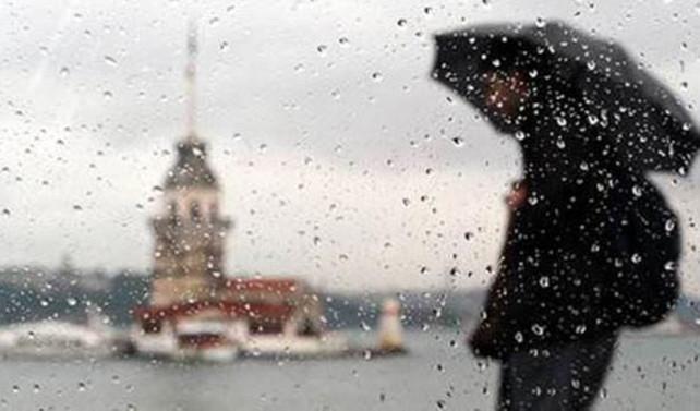 İstanbul'da öğle saatlerinden sonra yağış bekleniyor