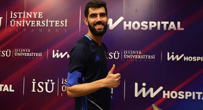 Luis Neto, sağlık kontrolünden geçirildi