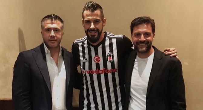Beşiktaş Negredo'yu borsaya bildirdi