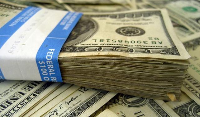 Serbest piyasada dolar 3,4470 seviyesinde