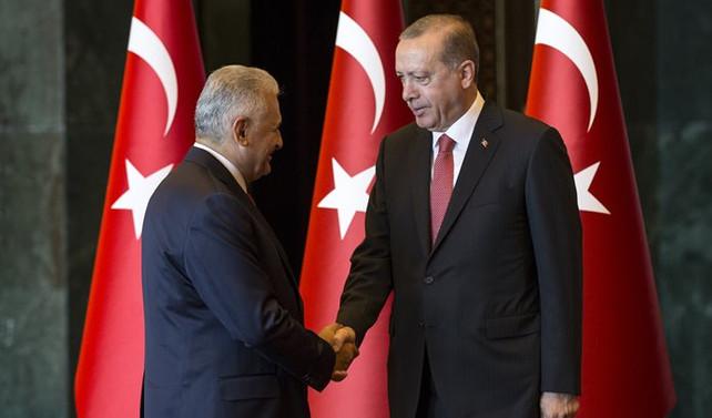 Erdoğan kutlamaları kabul etti
