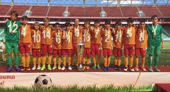 Galatasaray'dan uluslararası başarı