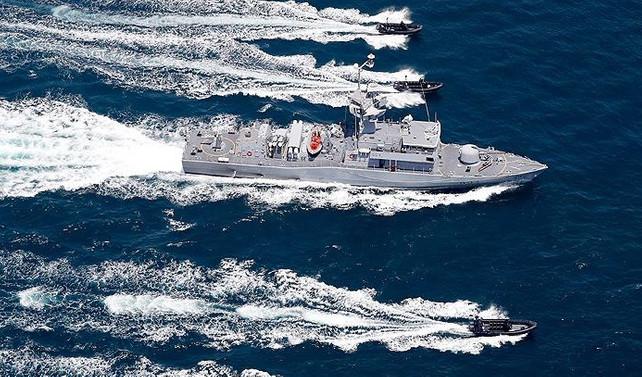 Türkiye ile Katar arasındaki deniz tatbikatı tamamlandı