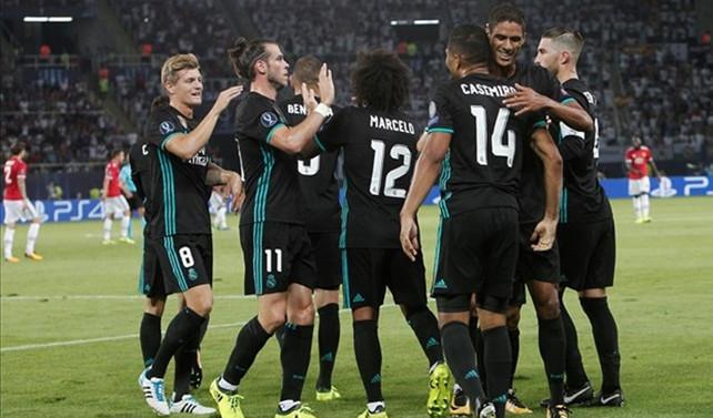 Süper Kupa Real Madrid'in
