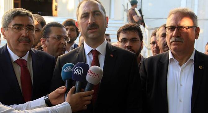 Adalet Bakanı Gül Gaziantep'te