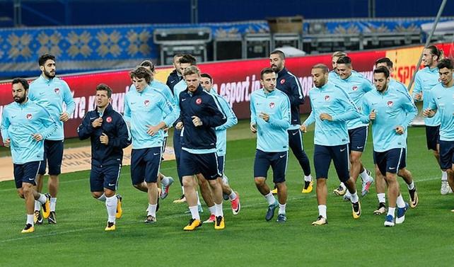 A Milli Futbol Takımı Ukrayna maçına hazır