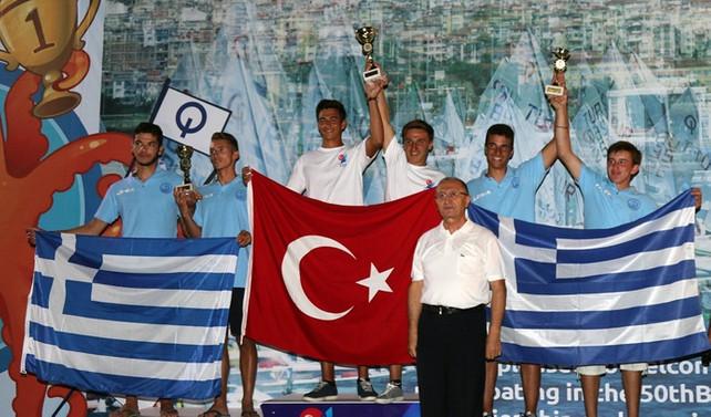 Balkan Yelken Şampiyonası'nda Dört Birincilik