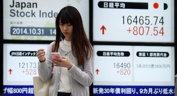 Asya borsaları alıcılıseyir izledi