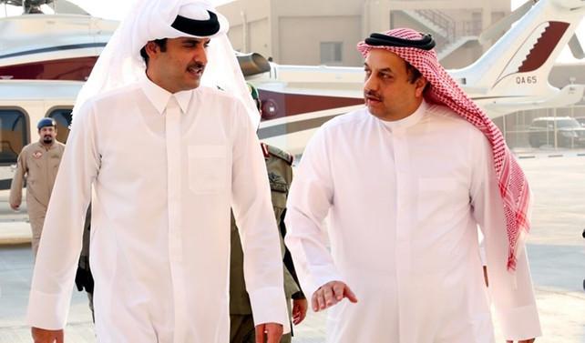 Katar Emiri, ABD'nin askeri üssünü ziyaret etti