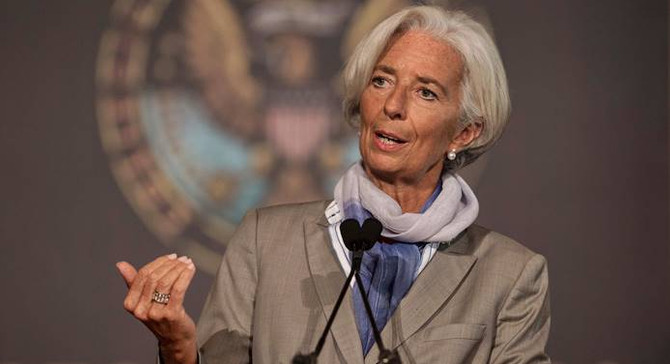 Lagarde: Global toparlanma kolaylıkla raydan çıkarılabilir