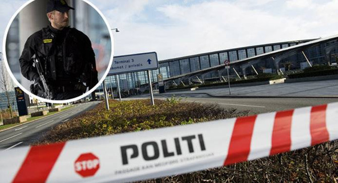 Kopenhag Havalimanı'nda bomba paniği