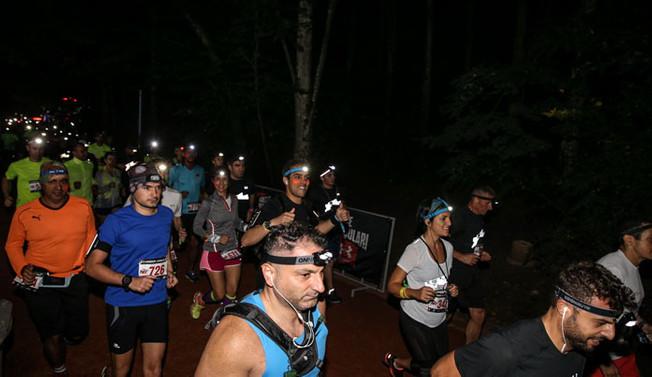 Belgrad Ormanı'nda gece koşusu