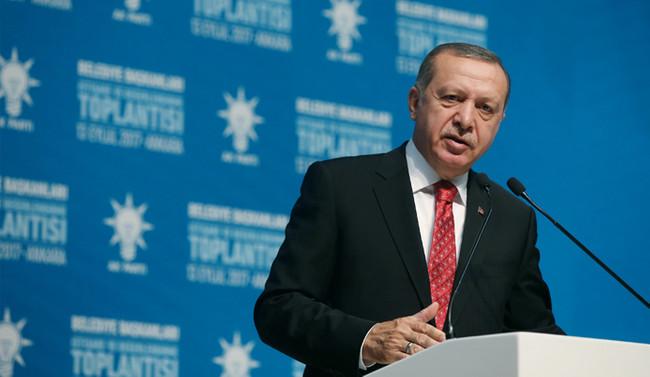 Erdoğan: Hedef Kasım 2019 olmalıdır