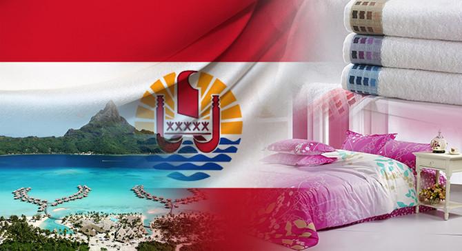 Fransız Polinezyası pazarı için ev tekstili ithal etmek istiyor