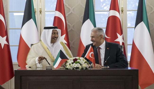 Türkiye ile Kuveyt'ten ortak bildiri