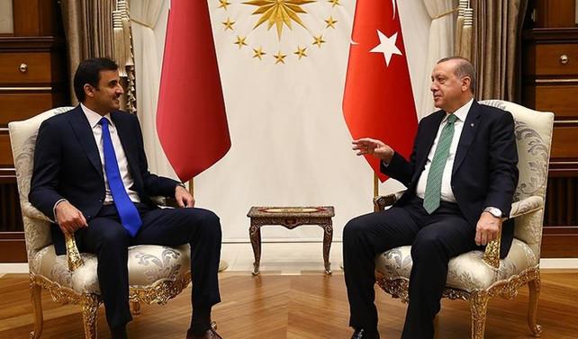 Erdoğan ile Al Sani görüştü