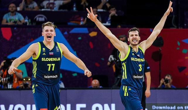 İspanya'yı yenen Slovenya finalde