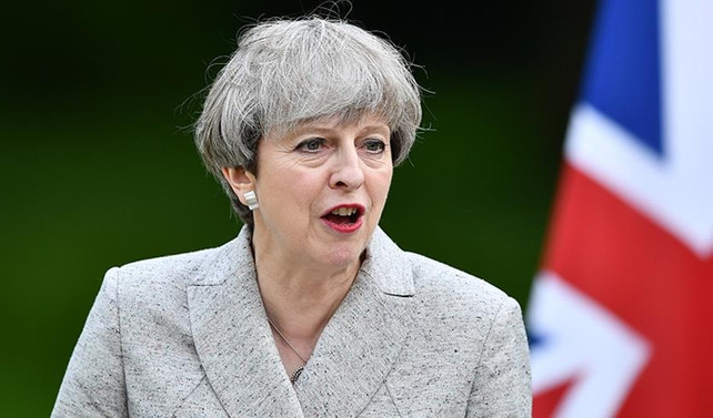 İngiltere Başbakanı May'dan Trump'a cevap