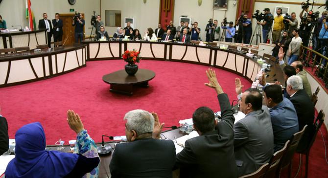 IKBY Meclisi, referandum kararını kabul etti
