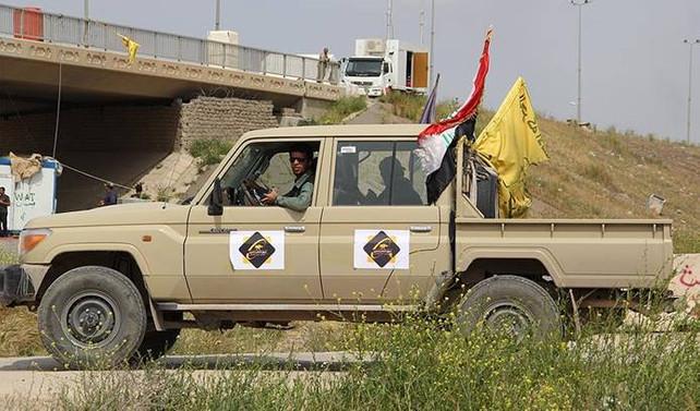 Haşdi Şabi'den Kerkük'e askeri sevkiyat
