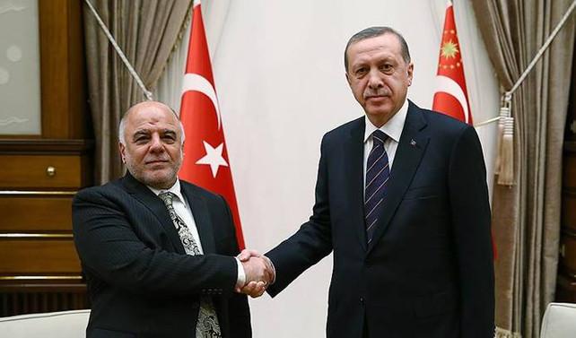 Erdoğan, Irak Başbakanı İbadi ile görüştü