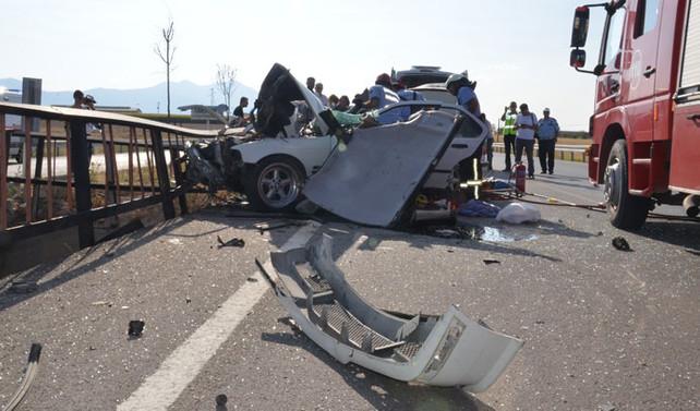Bayram tatilinin ilk 8 gününde kazalar 68 can aldı