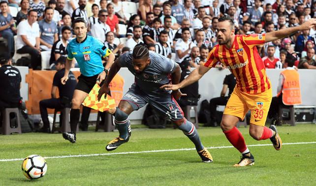 Beşiktaş, Kayserispor ile berabere kaldı