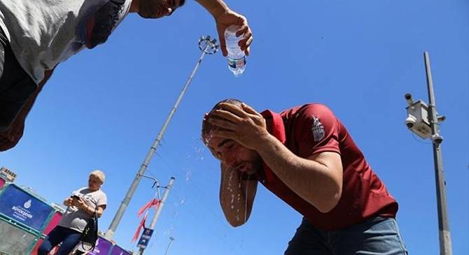 Meteoroloji'den Marmara'ya 'sıcak' uyarısı