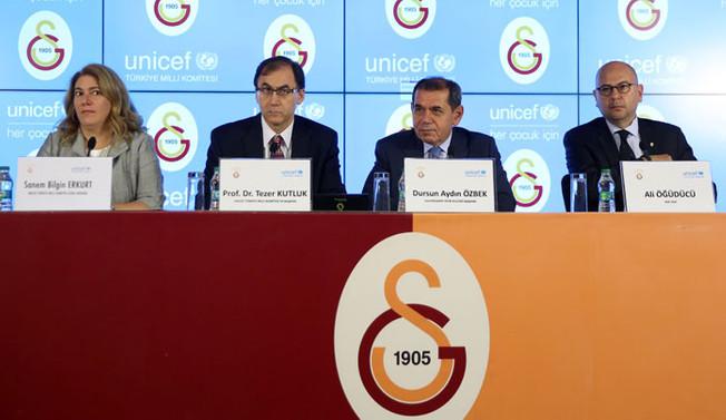 Galatasaray ile UNICEF'ten iş birliği