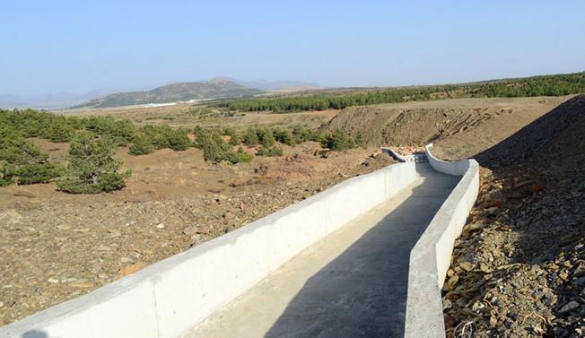 Seydişehir'de 2 Bin dekar alan suya kavuştu