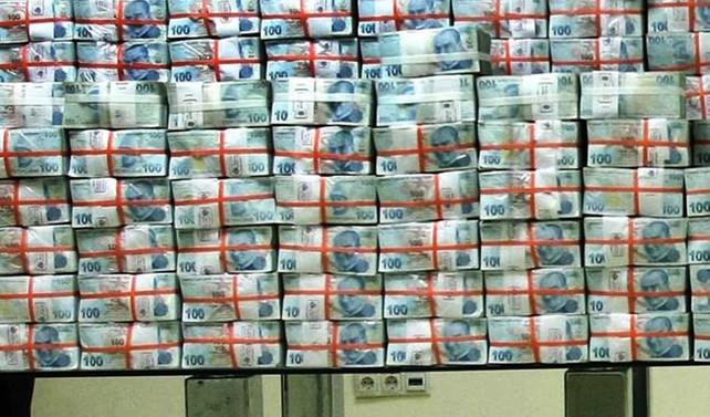 Merkezi yönetim brüt borç stoku 820,5 milyar TL