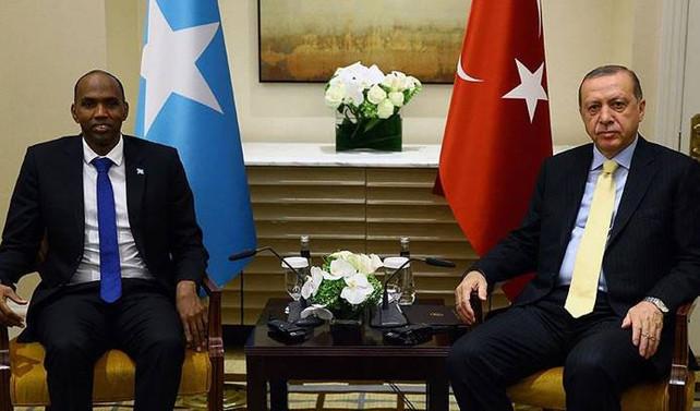 Erdoğan, Somali başbakanını kabul etti