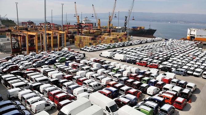 Türkiye'den Avrupa'ya otomotiv satışı azaldı
