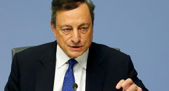 Draghi: Sorunlu kredi oranı hala yüksek