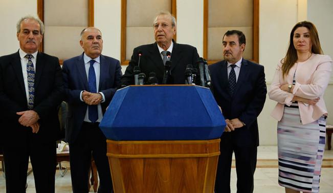 IKBY referandum heyeti, Bağdat ile anlaşamadı