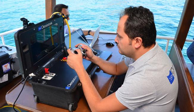 Adalar'ın elektriği Denizaltı robotuna emanet