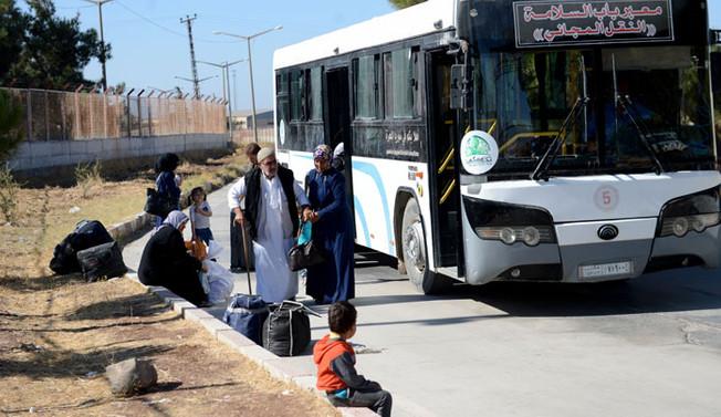 Sığınmacıların bayram dönüşü sürüyor