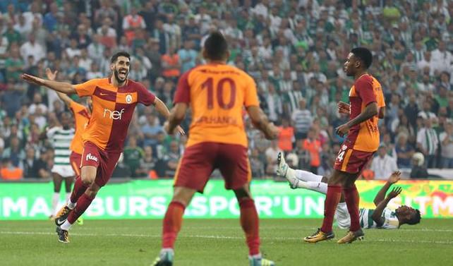 Galatasaray, 2. yarıda döndü