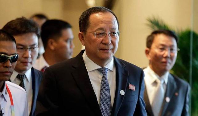 Kuzey Kore Dışişleri Bakanı Yong-ho: ABD, bize savaş ilan etti